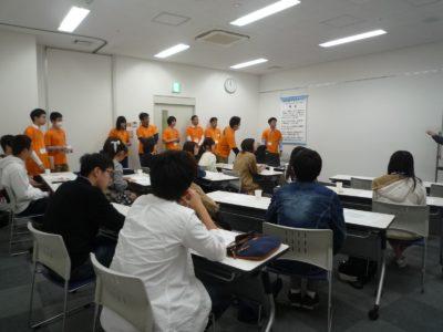 4月21日 学生スタッフ説明会