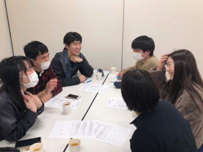 2月9日 学生スタッフ募集会議[学生向け]