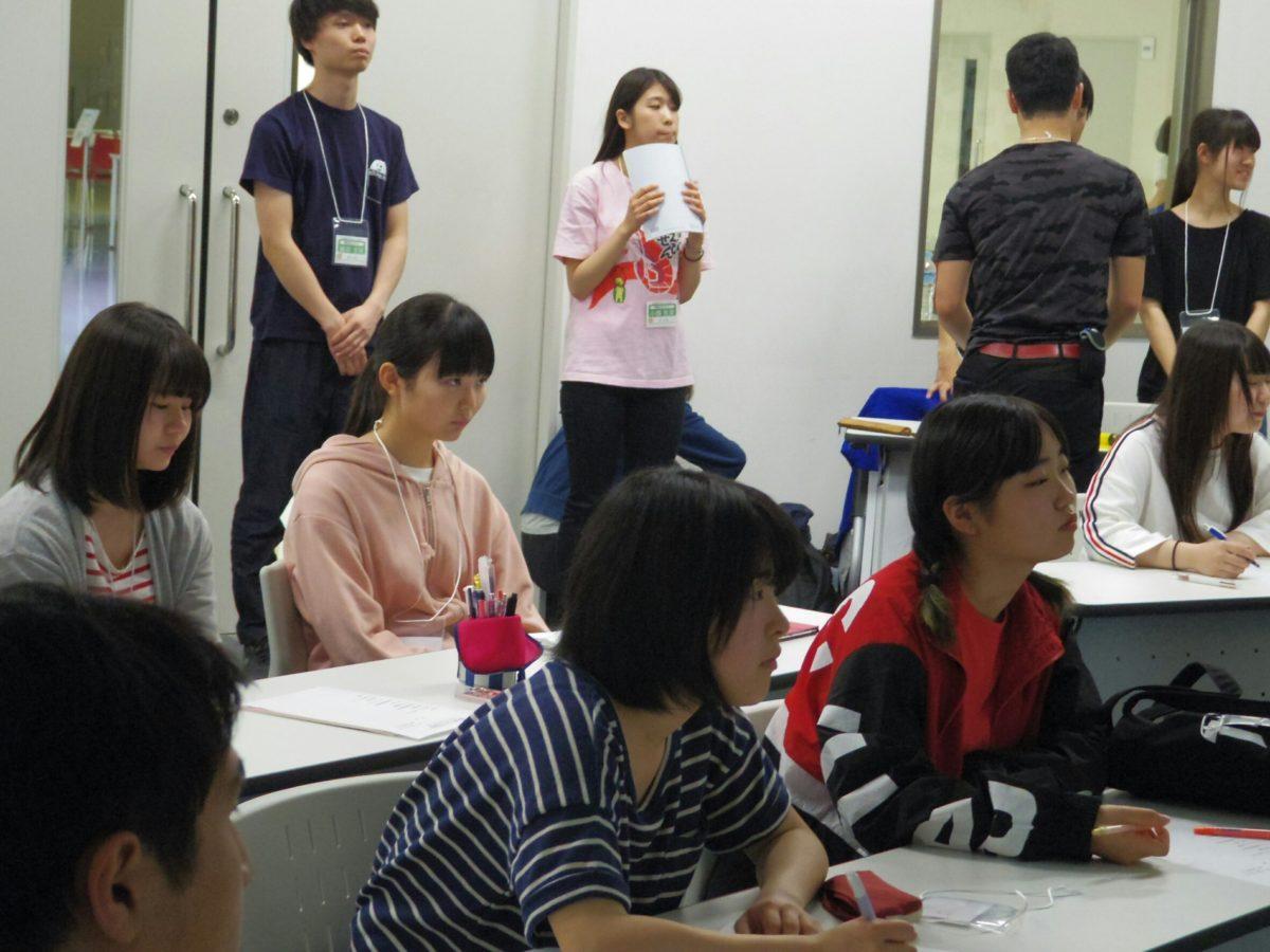 4月22日 学生スタッフ説明会①